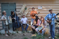 The original Porch Party in Crestline, CA