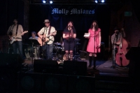 Matt Bunsen and the Burners classic lineup at Molly Malone's