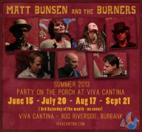 Summer 2013 - Viva Cantina residency poster